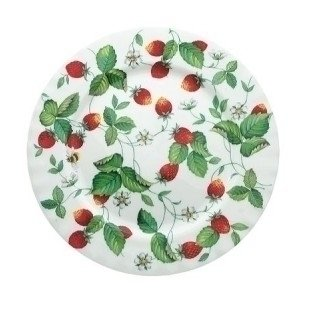 Roy Kirkham Alpine Strawberry Tea plate 20cm by Roy Kirkham Roy Kirkham Alpine Strawberry