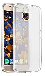 mumbi Hülle kompatibel mit Motorola Moto G5S Handy Case Handyhülle dünn, transparent