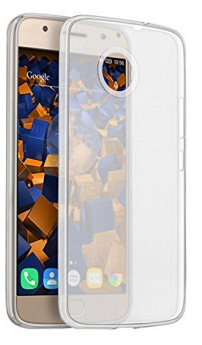 mumbi UltraSlim Hülle für Motorola Moto G5S Schutzhülle transparent (Ultra Slim - 0.70 mm)