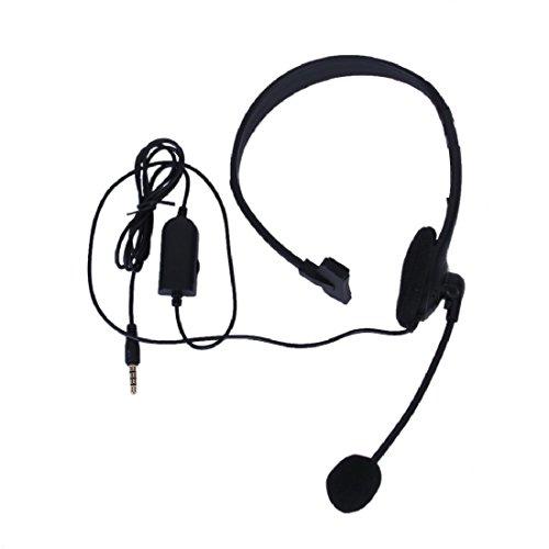 3.5 mm Wired Gaming Monaurales PC-Headset Chat Headset mit Mikrofon und Lautstärkeregler für Sony Ps4 Computer Schwarz Kabellose Bose Kopfhörer Für Kinder