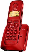 Gigaset A120 - Teléfono inalámbrico (DECT, pantalla 1.4