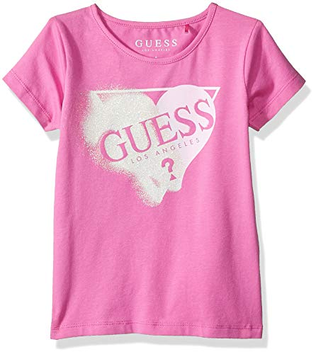 Guess Baby-Mädchen Ss T-Shirt Pullunder, Pink Wall G627, 86 (Herstellergröße: 2)