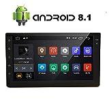 Android 8.1 Oreo Auto Stero Lettore multimediale con 7 pollici schermo di tocco capacitivo Quad Core da 2 GB + 16 GB Bluetooth 4.0 GPS WiFi di navigazione 3G 4G Specchio collegamento radio OBD2 1080P