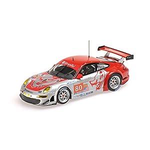 Minichamps - 410106980 - Vehículos en Miniatura - Modelo para la escala - Gt3 Porsche 911/997 Rsr - Le Mans 2010 - Escala 1/43