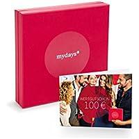 mydays   GUTSCHEIN 100 EURO   Auswahl aus über 14.000 Erlebnissen   Mit Geschenkbox im Wert von 6,90