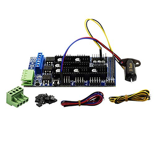 TOOGOO 1 Set 3D Drücken Sie Sensor Auto Leveling Sensoren + Ramps1.5 Controller Panel Für Ramps1.4 Anet A8 A6 Mendel Prusa 3D Drucker Teile