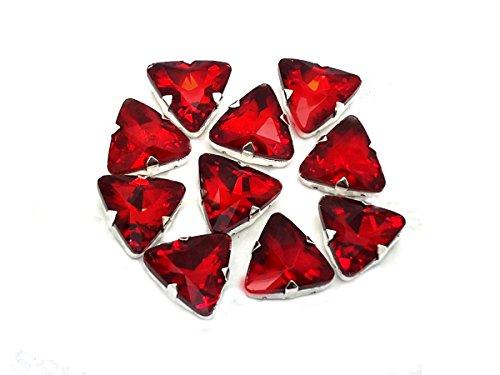 Eimass exquisite Glas-Kristalle zum Aufkleben oder Aufbügeln, Swarovski-Alternative, mit...