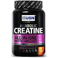 USN Creatine Anabolic Size and Strength Drink Powder, Orange - 1.8 kg
