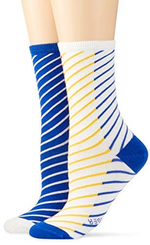 Tommy Hilfiger Damen Socken TH Women Twisted Stripe Denim 2P, 2er Pack, Mehrfarbig (Mixed Colors 584), 35/38