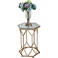 AuBergewohnlich LJF Eisen Couchtisch, Glas Marmor Kleine Geometrische Tabelle Kreative  Möbel Metall Halterung Couchtisch 46 *