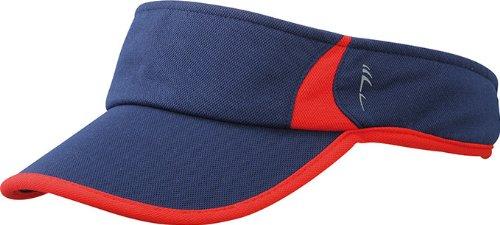 Myrtle Beach Running Sunvisor | navy/red | one size im digatex-package