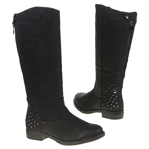 Ital - 229–bottes Noir - Noir