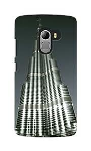 CimaCase Burj Khalifa Designer 3D Printed Case Cover For Lenovo A7010