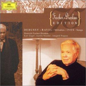 Debussy Ravel Ives :Mélodies / Songs
