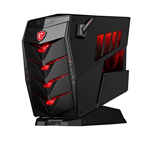 MSI Aegis 3 8RG-047EU - Ordenador de sobremesa Gaming (Intel Core i7-8700, 16 GB RAM, 2TB HDD + 256GB SSD, NVIDIA GeForce GTX 1070Ti Armor de 8GB, Windows 10) Color Negro