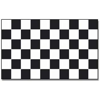 60 x 90 cm Fahnen Flagge Start Ziel Karo Schwarz Weiß