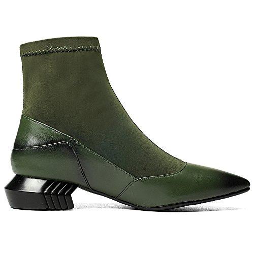 Nine SevenAnkle Bootie - Anfibi donna Green