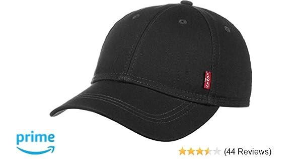 5cf3b51cf89d Levi s Men s Classic Twill Red Tab Baseball Cap