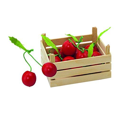Goki 51671 - Kaufläden und Zubehör - Kirschen, Obstkiste