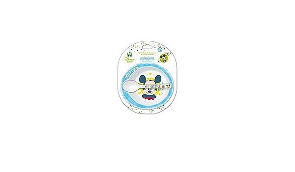 /Set Geschirr Mikrowelle Mickey Baby Disney 2/St/ück OLED/