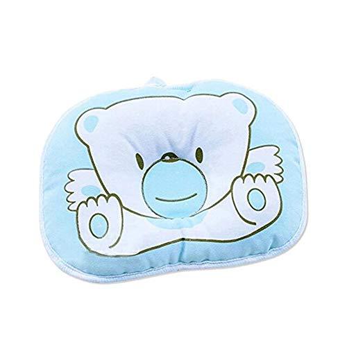 eugeborene Baby Anti-roll Kissen Anti-Flachkopf Kissen (Blau Bär) ()