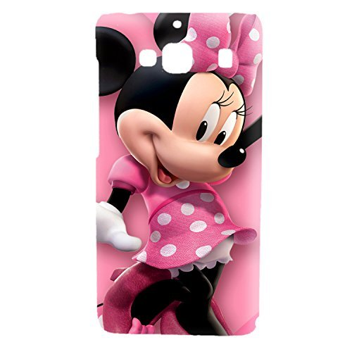 Clapcart Mickey Mouse Printed Back Cover for Redmi 2, Redmi 2 Prime and Redmi 2S- Multicolor