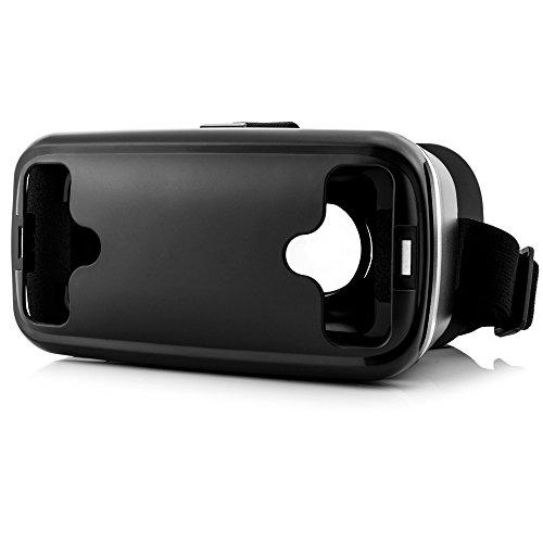 Shinecon SC-G04 Virtual Reality Brille + Bluetooth Joystick in Weiß - VR-Brille mit Gamepad für Handy, 3D Filme, VR-Movies, VR-Games, 360 Grad Spiele | Kompatibel mit Android & Windows phone - alle 4,7 bis 6 Zoll Smartphones von Samsung Galaxy | Huawei | Sony Xperia | HTC | Google Pixel | LG | Microsoft