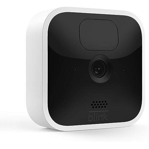 Nuova Blink Indoor, Videocamera di sicurezza in HD, senza fili, batteria autonomia 2 anni, rilevazione movimento, comunicazione bidirezionale, prova gratuita del Blink Subscription Plan |1 videocamera