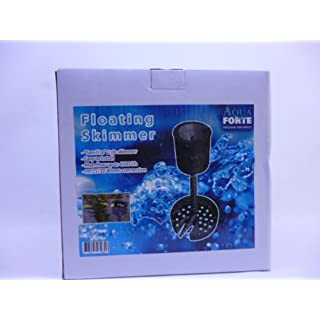 Aquaforte Floating Skimmer - Black, 30 x 35 x 34 cm