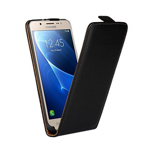 Ambaiyi Genuine Custodia in Pelle Flip Case Cover per Samsung