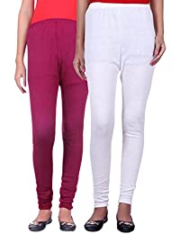 Belmarsh Warm Leggings - Pack of 2 (Mouve_White)