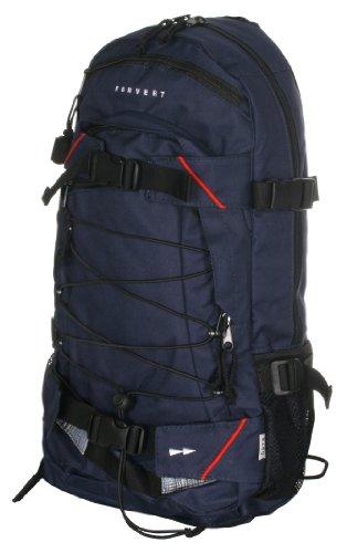 FORVERT Backpack Louis, Navy, 50.5 x 26.5 x 12 cm, 19.5 Liter, 88972 - Louis Blues Bekleidung