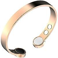 Rosin & Levine Kupfer-Armband mit extra starken Magneten gegen Arthritis, zur Schmerzlinderung, mit negativen... preisvergleich bei billige-tabletten.eu