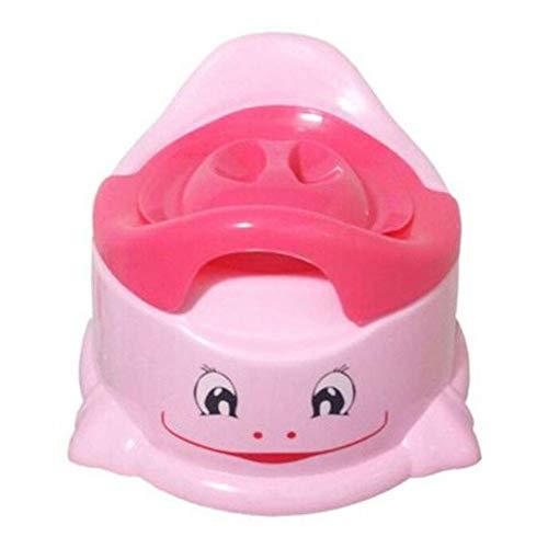Haloku Töpfchen Toilete Training Sitz, Tragbar Kleinkind Stuhl Toilettentrainer für Kinder Jungen Mädchen Turn - Rosa