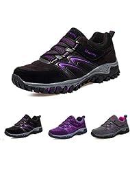 09cf7d3a34fe6 gracosy Zapatos de Senderismo Mujeres Trekking Escalada Al Aire Libre  Zapatillas de Senderismo Al Aire Libre