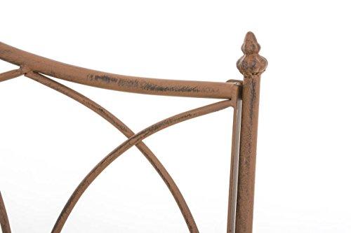 CLP Gartenbank ORKUN aus lackiertem Eisen