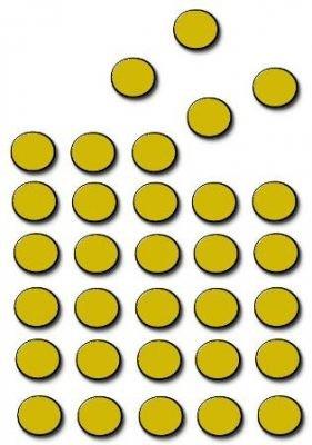 TimeTex Magnet-Punkte 200 Stück - selbstklebend - 12 mm im Durchmesser - Stärke: 1,2 mm - schwarz - TimeTex 93291 - selbstklebende Magnetplättchen rund - Magnete (Punkt-magnete)