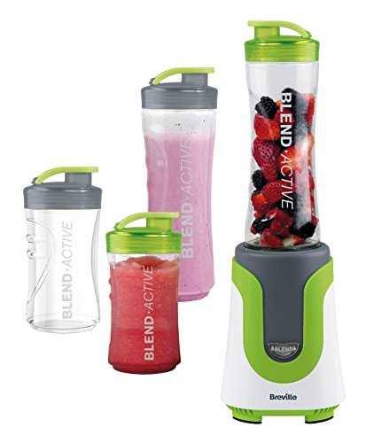 Breville VBL096 - Blend-Active® Family Pack - Personal Blender Green/White 0.6 Litre Capacity 1 Speed Setting 1 Year Warranty