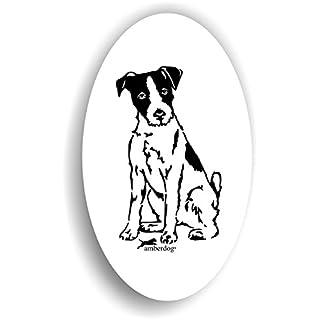 Parson Russel Terrier Sticker Hunde Auto Aufkleber Art.ST0167 , Aufkleber Wohnmobil Wohnwagen amberdog