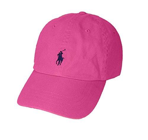 Polo Ralph Lauren Pony Logo Hat Cap Rosa mit Argosy Pony