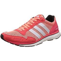 adidas Adizero Adios 3 W, Zapatillas de Running para Mujer, Rojo/Blanco (Brisol/Ftwbla / Rojimp), 36 2/3 EU