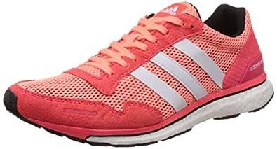 adidas Women's Adizero Adios 3 Running Shoes, Rojo