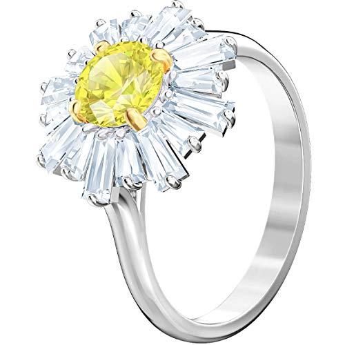 Swarovski Damen-Ringe Edelstahl Kristall '- Ringgröße 52 5482709 (Ring Love Mothers)
