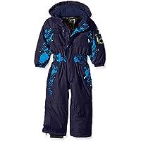 Peak Mountain Ecora - Traje de esquí para Niño, Traje, Niño, Color Azul (Blue), Tamaño 5 Años (Talla del Fabricante: 5)