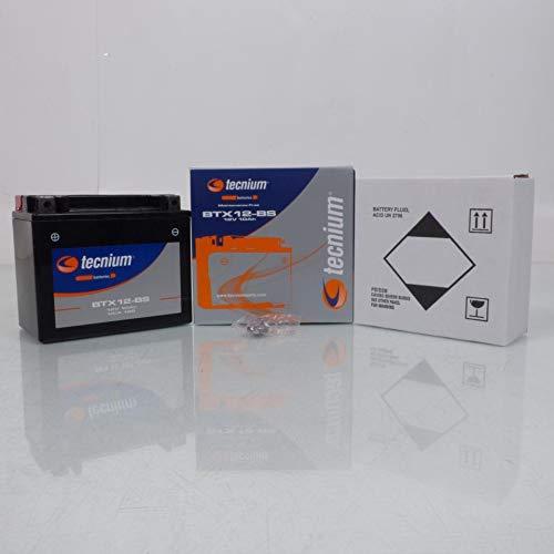 Batteria Tecnium Moto Kawasaki 750 Zr-7 2001-2004 YTX12-BS / 12 V 10 Ah