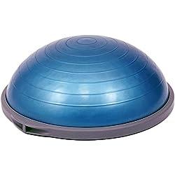 Bosu ORIGINAL PRO - Accesorio para entrenar el equilibrio, color azul, diametro 65 cm