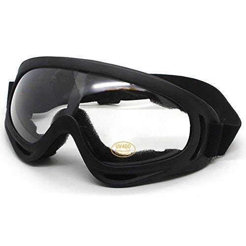 skibrille Sportbrille Motorrad Goggle Motocross Wind Staubschutz Fliegerbrille Snowboardbrille Skibrille Wintersport Brille Dirtbike Off-Road Schutzbrille Radsportbrille für Männer Frauen & Jugend