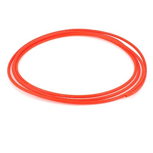 Poliuretano PU Compresor De Aire Manguera De Tubo 3 Metros 6mm x 4mm Rojo