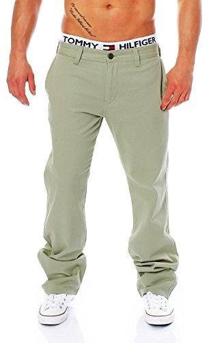 BIG SEVEN - EVAN - CHINO PANT - 8 Farben - Übergrösse XXL - Herren Jeans Hose, Farbe:Desert Sage;Hosengröße:W38/L34 (Elasthan Jeans Geprägte)