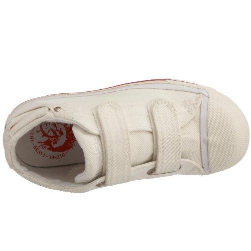 Diesel - Sneaker , Unisex - bambini bianco (White Canvas)
